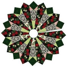 Free pattern day! Christmas Tree skirts | Quilt Inspiration | Bloglovin'