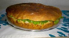 ricetta panino gigante / brioches salata