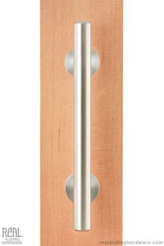 Real Sliding Hardware - Swiss Rod Pull Handle and Flush Pull (Stainless), $255.00 (http://www.realslidinghardware.com/swiss-rod-pull-handle-and-flush-pull-stainless/)