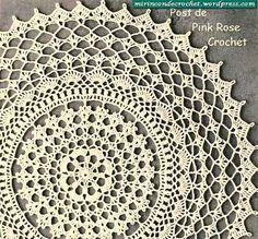 Free Crochet Doily Pattern