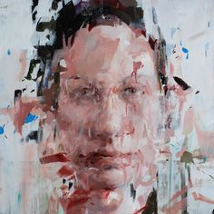 """crossconnectmag: """"Paintings by Alex Kanevsky Alex Kanevsky is an American contemporary classical painter with an impressionistic """"motion blurred"""" of style of oil painting. Abstract Portrait, Portrait Art, Alex Kanevsky, Figure Painting, Painting & Drawing, Guache, Abstract Painters, Glitch Art, Portraits"""