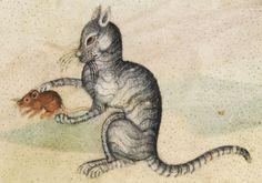 I has mowseLuttrell Psalter, England ca. 1325-1340. British Library, Add 42130, fol. 190r