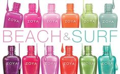 Zoya Beach & Surf collection... omg! need all of them!!!