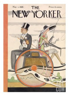 The New Yorker Cover - May 1, 1926 Premium Giclee Print by Ottmar Gaul at Art.com
