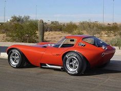 """1964 Chevrolet Cheetah"" The Bill Thomas Cheetah was a sports car car built from 1963-1966 by Chevrolet performance tuner Bill Thomas as a competitor to Carroll Shelby's Cobra."