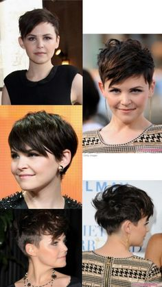 Ginnifer Goodwin can pull off anything. She rocks this cut and it definitely makes me want to do it, but I couldn't. Love it though.