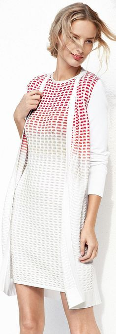 Magaschoni Cardigan & Dress