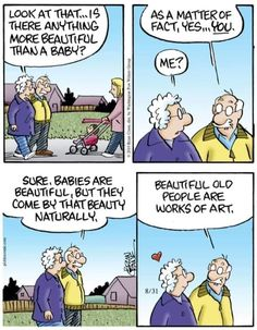 Romance And Love, Humanity Restored, Calvin And Hobbes, Faith In Humanity, Getting Old, Make You Smile, Comic Strips, Good News, Relationship Goals