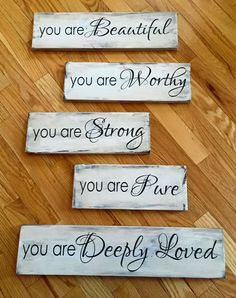 you+are...wood+signs.jpg