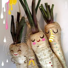 Don't play with your food....Helen Dardik - Friendly Vegetables -> Friendly Objects