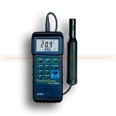 """http://handinstrument.se/labbinstrument-r411/matare-for-lost-syre-53-407510-r425  Mätare för löst syre  Mäter löst syre, syre, plus temperatur  Min / Max / Genomsnitt, Data Hold och automatisk avstängning vid inaktivitet  Automatisk temperaturkompensering  Stor 1,4 """"(36mm) LCD-skärm  Inbyggt RS-232 PC-gränssnitt och som tillval Data Acquisition Software och Datalogger Garanti: 3 År Leveranstid: 4-5 Veckor"""