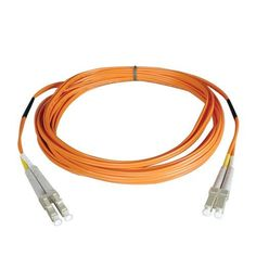 Tripp Lite N520-08M 26.25' Multimode Duplex 50/125 Fiber Optic Patch Cable LC/LC 8M (26.25 Feet) by Tripp Lite. $21.80. From the Manufacturer                 Don't settle for less than the best—enjoy better signal quality and faster transmission! Tripp Lite's N520-Series fiber cables assure peak performance throughout your local area network application. Unlike cut-price cables, the N520-Series is manufactured to exacting specifications, using superior materials, for a di...