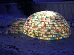 colourful igloo
