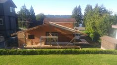 Framing deck and roof