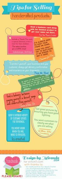 Tips for Selling Handcrafted Products