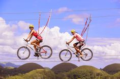 2019 Bohol Countryside Tour w/ Bikezip Adventure ALL-INN. Bohol Countryside Tour w/ entrance Fees w/ Bike Zip Ride Adventure Chocolate Hills, Visayas, Bohol, Tourist Spots, Countryside, Philippines, Places To Visit, Around The Worlds, Tours