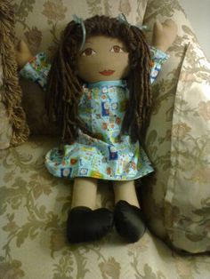 This was the third doll I made.