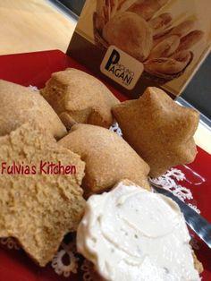 Fulvia's Kitchen: #Stelle di #pane alla #paprika #dolce con #pasta #madre