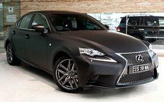 2014 Lexus IS 350 F SPORT in Matte Black