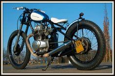 Japanese bobber motorcycles