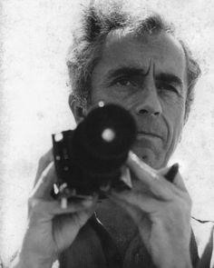 Michelangelo Antonioni (Italian psychological drama director: L'Avventura [1960], La Notte [1961], L'Eclisse [1962], Il Deserto Rosso [1964], The Passenger [1975]).