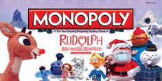 "Rudolph the Red-Nosed Reindeer Collector's Edition Monopoly boxtop. ""Do you recall the most famous reindeer of all?"" Now try to win it all! Buy now! http://www.amazon.com/Monopoly-Rudolph-Red-Nosed-Reindeer-Collector/dp/B007MHE9F6/ref=sr_1_2?s=toys-and-games=UTF8=1349122514=1-2=rudolph+monopoly Want more info?http://www.usaopoly.com/games/monopoly-rudolph-red-nosed-reindeer-collectors-edition"