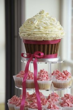 cupcake wedding cake idea