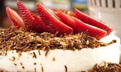 Torta-mousse de coco