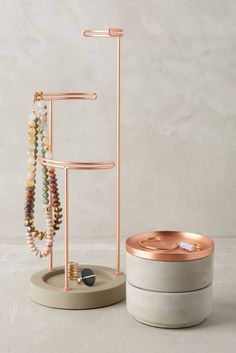 Tesora Jewelry Storage Collection by Sung Wook Park for Umbra