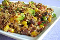 Soy Chorizo Quinoa Salad