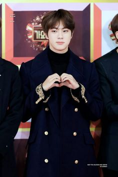 He looks like a shy prince. He's adorable