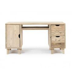 bureau vintage steigerhout