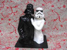 Star Wars Couple Cake Topper by dnacreations on Etsy