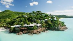 Cocos Hotel, Antigua   A boutique collection of 30 private Caribbean Cottages with ocean views. A little slice of Carribbean heaven.