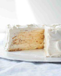 Lemon-Mascarpone Crepe Cake Recipe