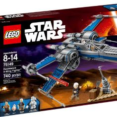 Win a LEGO® Star Wars Resistance X-Wing Fighter™ £84.99 + Carry Smarter Gift Card £100Total Prize value of £184.99