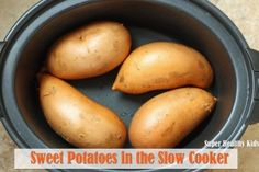 Sweet Potatoes in the Slow Cooker | Blog