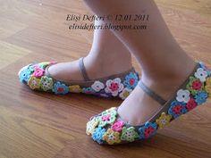 Motifli ayakkabı