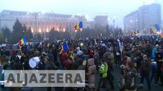 Romania's government under pressure as protest Coin Toss, Al Jazeera English, Barbara Bush, Galaxy 2, National Anthem, Under Pressure, Guardians Of The Galaxy, American Football, Romania