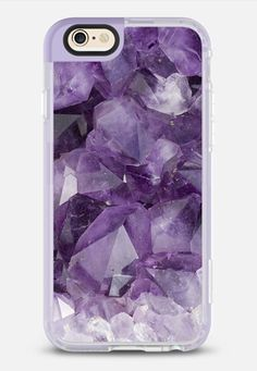 Amethyst - New Standard Case in Lavender Violet by Andriy | @casetify