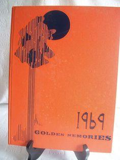 1969 Golden Memories Columbia Union College Yearbook