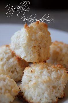 Mat for sjelen...: Kokosmakroner...