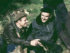 Yuri Gagarin durante la caza mayor
