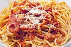 Spaghetti, Cooking Recipes, Pasta, Ethnic Recipes, Food, Vegetarian Food, Chef Recipes, Essen, Eten