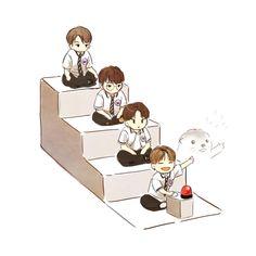 Seventeen Memes, Kpop Fanart, Pledis Entertainment, Love Art, Drawing S, Art Pictures, Cute Wallpapers, Chibi, Anime