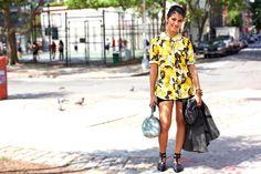 Look retro y moderno a la vez para un verano con mucho color.  #UrbanLooks #Moda #MNYArgentina