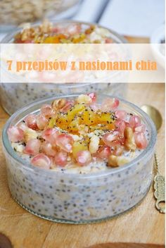 7 przepisów z nasionami chia Breakfast, Food, Per Diem, Meal, Eten, Meals, Morning Breakfast