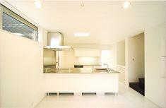白いリビングの家(京都市南区) 施工例 狭小住宅.com