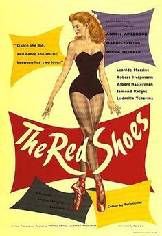 """""""The Red Shoes"""" (1948) directed by Michael Powell and Emeric Pressburger / highest grossing film in 1948"""