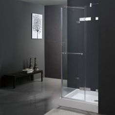 "Vigo 36"" x 36"" Square Shower Enclosure VG6011CHCL363 - maybe i can get a regular square shower"